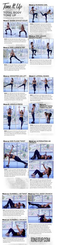 The most amazing Total Body Workout with Tone It Up!