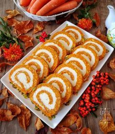 A wonderful carrot cake with exquisite coconut filling - Hazel Grant - Good Food, Yummy Food, Delicious Dishes, Fiber Diet, Food Illustrations, Party Snacks, Carrot Cake, Finger Foods, Pumpkin Spice