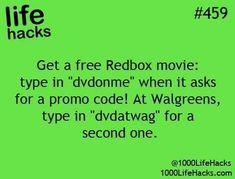 Free Redbox Movie!! ((Really Works)) #Entertainment #Trusper #Tip