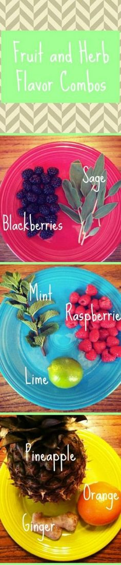 Our homemade fruit and herb infused water is the best way to stay hydrated! Here are our favorite flavor combinations!
