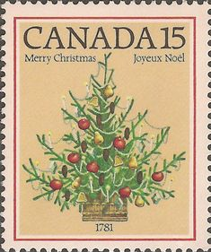 Canadian Christmas stamp, 1981