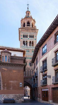 Catedral de Sta. Mª de la Villa S/ XIII. Mudejar. Teruel. Aragón. Spain.