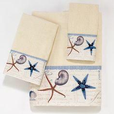 Beautiful Beach And Nautical Hand Towels