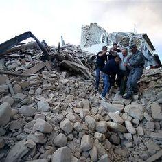 Italy Earthquake: Army Mobilized, Amatrice and Accumoli Hit Hard ...