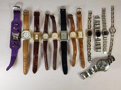 Guess Estate Lot Of 13 men women Wristwatches Quartz 1.2lbs  #C-14-17  #GUESS