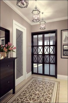 Trendy apartment door decorations entryway home decor 32 ideas Living Room Remodel, Living Room Decor, Style At Home, Home Interior Design, Interior Decorating, Flur Design, Halls, Apartment Door, Hallway Designs