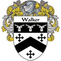 Walker Coat of Arms   http://irishcoatofarms.org/ has a wide variety of products with your surname with your coat of arms/family crest, flags and national symbols from England, Ireland, Scotland and Wale