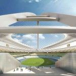 Modern Architecture Design And Construction Of Unique Big Arch In Durban Stadium For World Cup 2010 South Africa