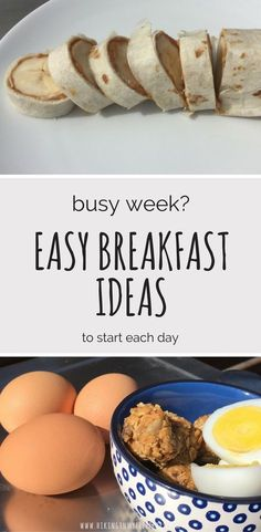 These make-ahead and grab-and-go breakfasts have something for everyone! #breakfast