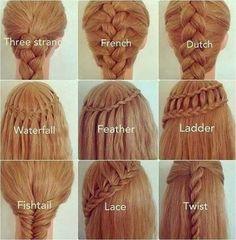 Cute Easy Hairstyles For School Waterfall Twist Ladder Braid Hairstyle School Hairstyles
