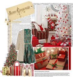 """""""MERRY CHRiSTMAS POLYVORE! ♥"""" by queeniegwennie ❤ liked on Polyvore"""