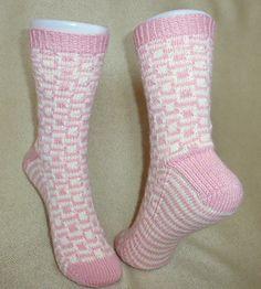 Ravelry: Block Party Socks pattern by Kathryn C.