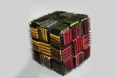 Bladed Rubik's cube