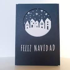 Resultat d'imatges de postales de navidad hechas a mano