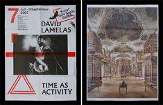 Laurenz Brunner & Cornel Windlin Kunst Halle Sankt Gallen posters (2007)