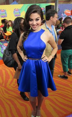 This dress would have gone great with a pair of flutter wings. Kira Kosarin (The Thundermans)