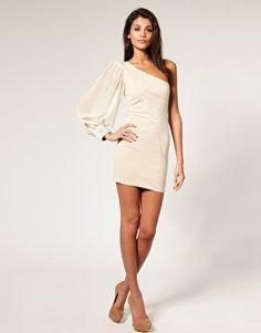 Adorable One Sleeve Dress... $38!!