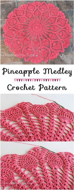 Pineapple Medley Cro