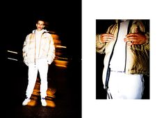 Frankie Collective x Highsnobiety Editorial   Vintage Polo Sport puffer