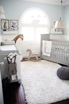 Baby Boy Room Ideas - Designing a boy nursery seems to be an overwhelming task. When you choose the best baby boy room ideas, multiple color Baby Bedroom, Baby Boy Rooms, Baby Room Decor, Baby Boy Nurseries, Nursery Room, Girl Nursery, Baby Blue Nursery, Blue Nursery Ideas, Unisex Nursery Ideas