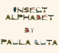 Insect Alphabet by Paula Duta on BoredPanda