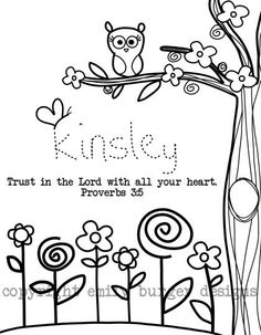 Another cute coloring page. @leahvent (the name reminds me of someone;)