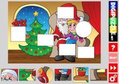 Christmas Shape Puzzles Shape Puzzles, Christmas Games, Kids Rugs, Cartoon, Shapes, Fun, Home Decor, Xmas, Decoration Home