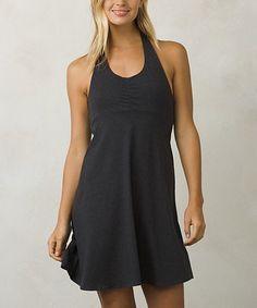 Love this Black Beachside Organic Cotton-Blend Dress on #zulily! #zulilyfinds