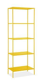 Slim Shelves in Colors - Bookcases & Storage - Kids - Room & Board