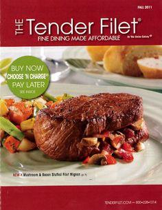 Tender Filet cover for Fall 2011.