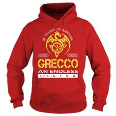 Of Course I'm Awesome GRECCO An Endless Legend Name Shirts #gift #ideas #Popular #Everything #Videos #Shop #Animals #pets #Architecture #Art #Cars #motorcycles #Celebrities #DIY #crafts #Design #Education #Entertainment #Food #drink #Gardening #Geek #Hair #beauty #Health #fitness #History #Holidays #events #Home decor #Humor #Illustrations #posters #Kids #parenting #Men #Outdoors #Photography #Products #Quotes #Science #nature #Sports #Tattoos #Technology #Travel #Weddings #Women