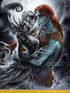 gender swapped jack and sally<3 Beautiful