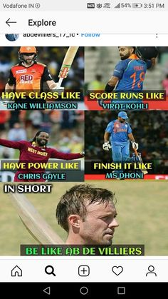 All my favorites in a single frame😘 India Cricket Team, Cricket Sport, Cricket News, T20 Cricket, Funny Fun Facts, Cute Funny Quotes, Some Funny Jokes, Ab De Villiers Photo, History Of Cricket
