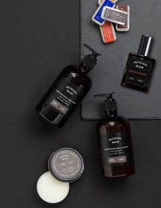 Mixture Men: HAND SOAP, COLOGNE BALM, JEAU DE PARFUME INTENSE, BODY LOTION  and HAND RESTORE Great Gifts For Guys, Gifts For Boys, Body Lotion, Restore, Cologne, The Balm, Soap, Personalized Items, Men