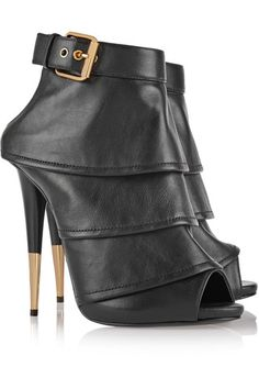 Tiered Leather Ankle Boots Leather Ankle Boots, Shopping