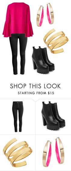 """""""Untitled #66"""" by bettina-agoston on Polyvore featuring Nasty Gal, Lana and Design Lab"""