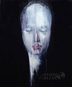Expressionism expressionist artist Daisuke Ujuan Self-portrait
