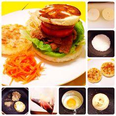 ジェンガしないと食べられないタワーライスバーガー(*ˊ ˋ)⋆°.♡ by powerangix at 2014-4-8   追加写真、詳細、小ネタをブログ記事にしてます(๑′ᴗ‵๑) 気になる方はチェックしてみて下さい♪   【ブログ更新!】自炊コラムは、食卓から消えていく食べ物のお話しを(≧∇≦)|ジェンガしないと食べられないタワーライスバーガー 〜オープンサンドにしちゃったけど〜【ある日のカフェ飯:018】 | a+cafe(あとカフェ) http://atcafe.dualing-am.com/cafemeshi/tower_riceburger/