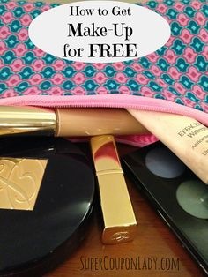 Secrets to Getting Makeup for FREE http://www.supercouponlady.com/2013/11/secrets-to-getting-makeup-for-free.html/