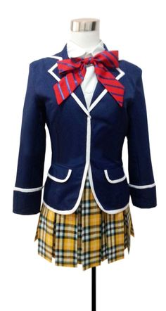 Dreamcosplay Anime Shokugeki No Soma Nakiri Elina School Uniform Cosplay Costume…
