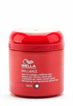 Wella Brilliance - Maske. Perfekte Pflege für gefärbtes Haar!