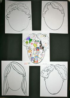 What's on your mind? Is a terrific way to get to know your students + these make an easy and awesome bulletin board too!Great activity for the first week of school and a nice ice breaker for students to get to know their new classmates.