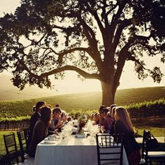 The perfect meal outdoors