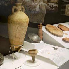 Jarro del s. I dC. Ánforas y salazones de época romana.