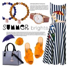 """""""Summer brights!"""" by christianpaul ❤ liked on Polyvore featuring Dolce&Gabbana, Charlotte Olympia, Dasein, EARTH TU FACE, Ellis Faas, contestentry, summerbrights and christianpaulwatches"""