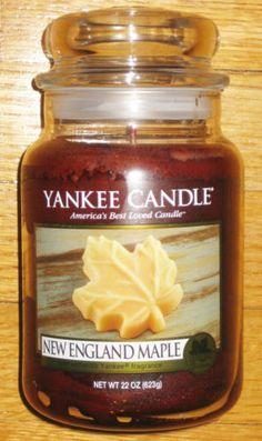 Yankee Candle New England Maple
