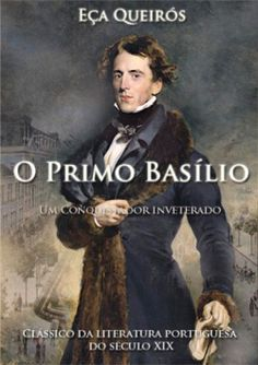 """Capa do livro """"O Primo Basílio"""" de Eça de Queirós."""