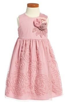 Pippa & Julie Sleeveless Dress (Toddler Girls) available at #Nordstrom -  FLOWER GIRL