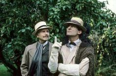 Sherlock Holmes and Doctor Watson, enjoying retirement.