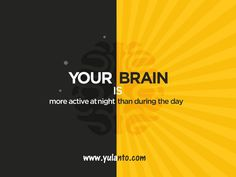 After all the activities that take place during the day, we are tempted to believe that most of the brain's functions are active in all this time. However, a physical, emotional and psychological rebalancing takes place every night. ‪#‎news‬ ‪#‎yulanto‬